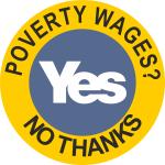 povertywagesnothanksyes
